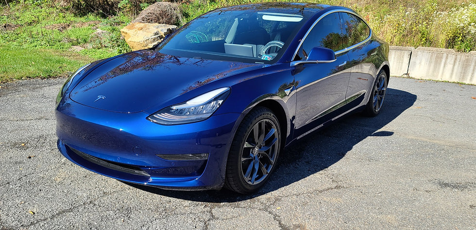 2019 Tesla Model Y with Stek Paint Protection Film on every body panel by Immaculate Paint Protection