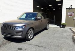 2020 Range Rover Matte Clear Bra