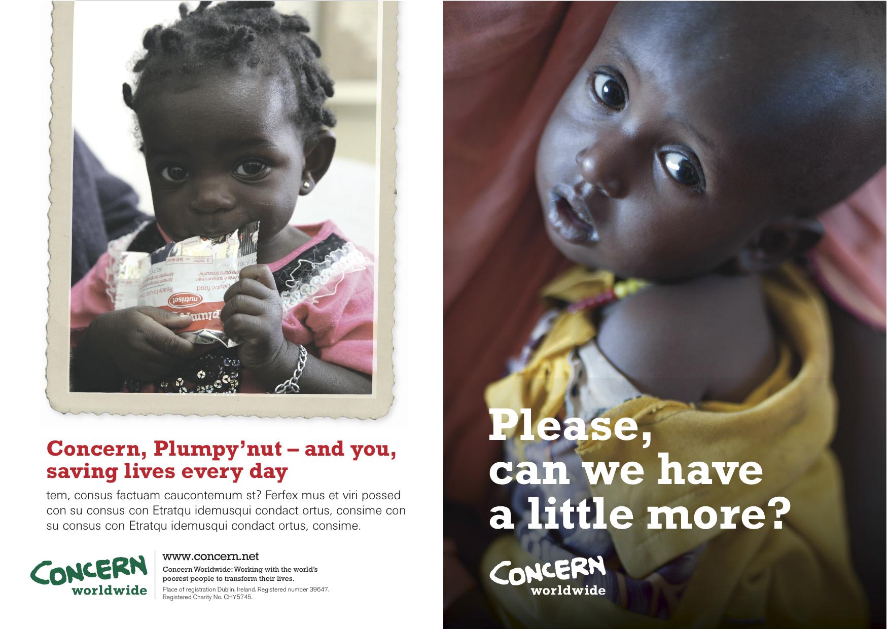 Concern sponsor leaflet