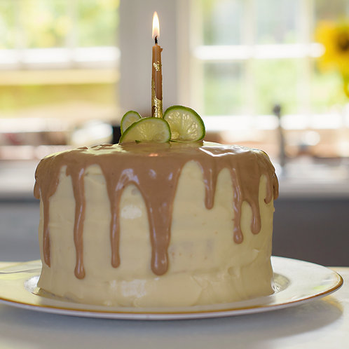 Dark & Stormy Cake