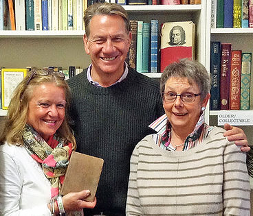 Michael Portillo visited while filming a