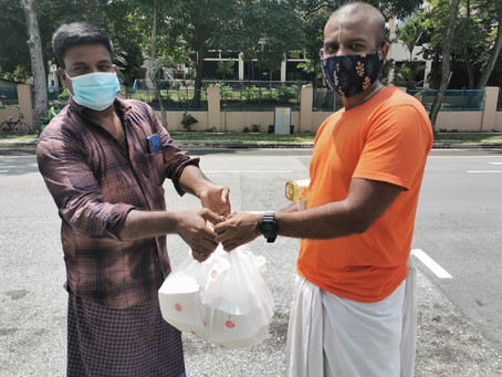 Free Meals For Migrant Workers