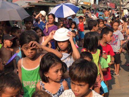 Free Food Distribution in Philippines