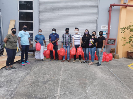 Food Distributions To 500 Migrant Workers