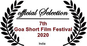 Goa Short Film Festival Laurel 2020 JPG.