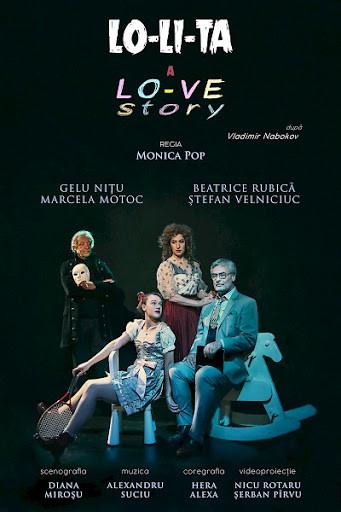 Spectacol de teatru Lolita cu Marcela Motoc