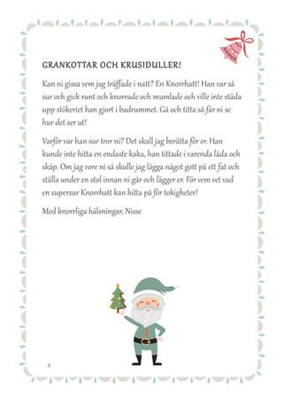 Nissebrev Julkalender Syskon - REDIGERAD