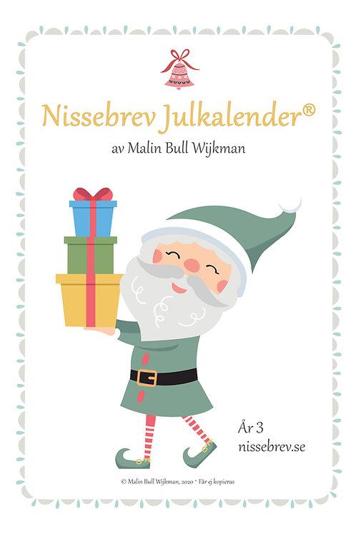 Nissebrev Julkalender® År 3