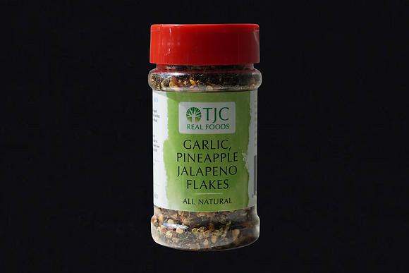 Garlic Pineapple Jalapeno Flakes