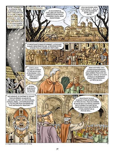 L'appel de Clermont du pape Urbain à la croisade