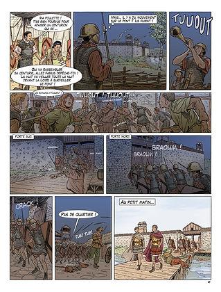 les Romains devant Cenabum