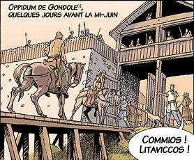 La porte gauloise de Gondole