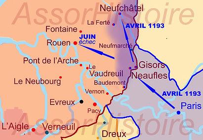 les conquêtes de Philippe Auguste en avril 11933_avril-juin_sécur