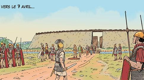 les Romains devant Vellaunodunum