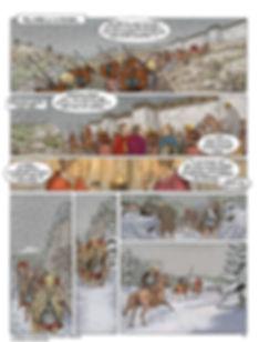 César arrive chez les Helviens