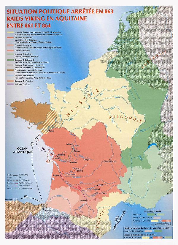 l'Aquitaine caroligienne et les Vikings
