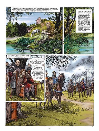 Henri Beauclerc rencontre Louis VI le Gros près de l'Ormeteau ferré.
