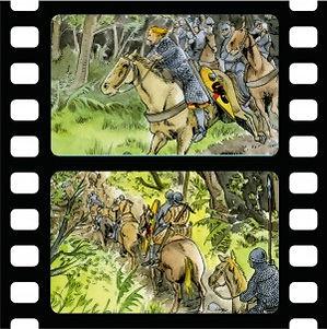 la bataille de Fréteval