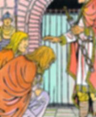 Bjorn rencontre Charles le Chauve à Verberie