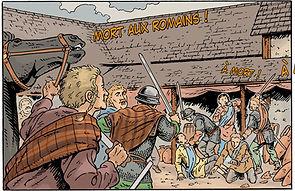 massacre des Romains à Cenabum