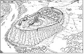 fresnay_sur_Sarthe vers 1100.
