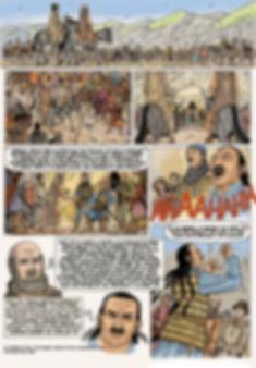 première croisade - entretien entre Pierre l'Ermite et Kerbogha.