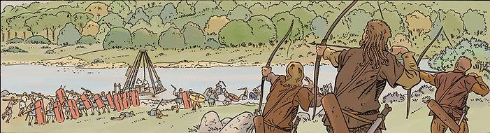 BD Gergovie, bataille de Gondole