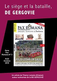 article pax romana : siège et bataille de Gergovie