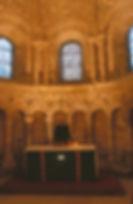 Choeur de l'église de Saint Clair sur Epte