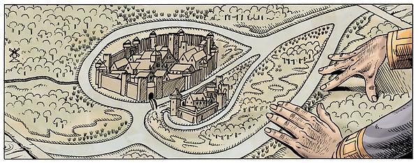 Aalst - Alost au début XII siècle