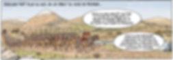 César arrive dans la vallé duRhône - printemps -52