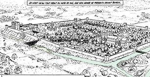 Bayeux en 1105