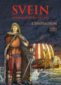 BD Moi Svein, couv. tome 1 édition 3, les Vikings