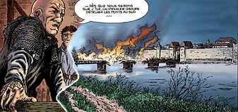 Robert de Meulan attaque le palais royal à Paris