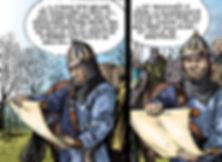 extrait du traité conclu entre Henri Beauclerc et Louis le Gros en 1113 devant l'ormeteau ferré.