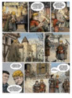 Louis le Gros et Guillaume Cliton à Bruges.