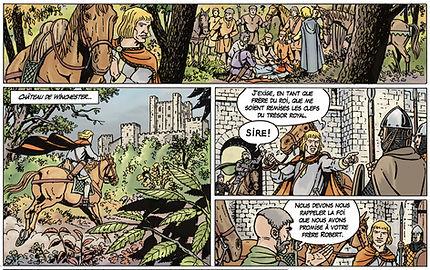 Mort de Guillaume le Roux -  death of William rufus - New Forest 2 August 1100