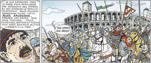 Girard régent de Provence à Arles
