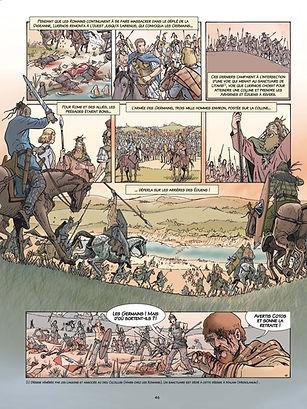 Les Germains surprennent la cavalerie éduenne deux jours avant le siège d'Alésia.mdef.jpg