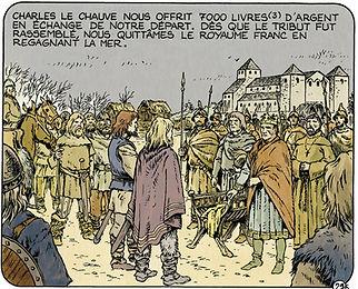 Ragnar rencontre Charles le Chauve à Saint Denis