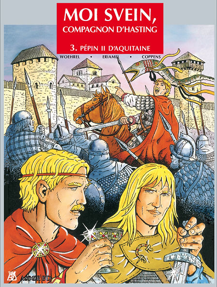 BD moi svein, tome 3 couverture