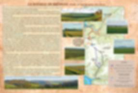 Cartographie de la bataille de Brémule (1119).