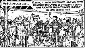 Robert Courteheuse et Bohémont de Tarente, première croisade