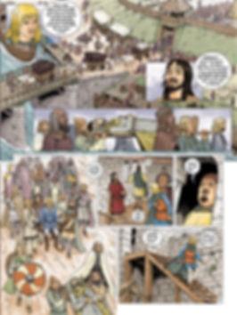 L'attaque de York par les Vikings