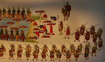 Fresque du MuséoParcAlésia.
