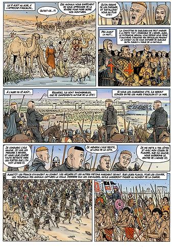 Bataille d'Ascalon lors de la première croisade
