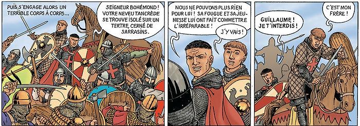 Bohémond de Tarente et son neveu Guillaume.