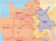 situation_politique_1193_carte des états entre Richard cœur de Lion et Philippe Auguste