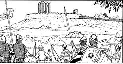 La cité de Ballon vers 1100.