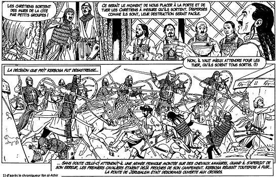 première croisade, combats devant Antioche